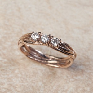 14k rose gold diamondsC0-38
