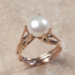 14k rose gold pearlC0-82