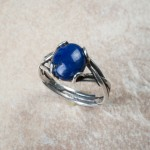 sterling silver lapis lazuliC2-74