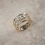 14k yellow gold diamondsC3-26