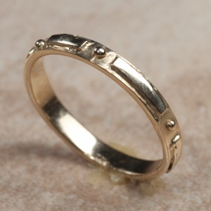14k yellow gold bandC7-201