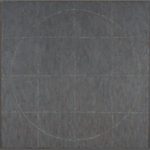 "Cinders of Necessityencaustic canvas24x24"""