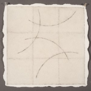 "BudWatercolor, Graphite, Pencil on Twin Rocker Paper 14 1/2x 14 1/2""2014 2014"