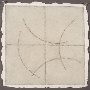 "Dave D Watercolor, Graphite, Pencil on Twin Rocker Paper 14 1/2x 14 1/2""2014 2014"