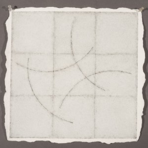 "McCoy Watercolor, Graphite, Pencil on Twin Rocker Paper 14 1/2x 14 1/2""2014 2014"