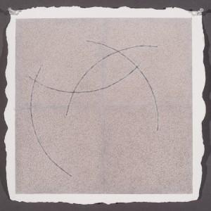 """Christian W watercolor, graphite, colored pencil, Twin Rocker Paper14 1/2x14 1/2""""2015"""