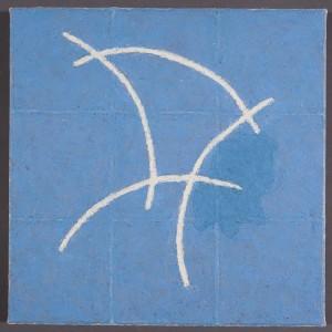 "Fresco Ipigment stick, cold wax medium, acrylic14x14"" 2015"