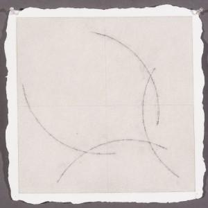 """Steve R watercolor, graphite, colored pencil, Twin Rocker Paper14 1/2x14 1/2""""2015"""