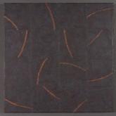 "The Head of Medusa Pigment Stick, Cold Wax Medium, Acrylic18 x18""2016"