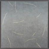 "The Return of Ulysses Pigment Stick, Cold Wax Medium, Acrylic18 x18""2015"